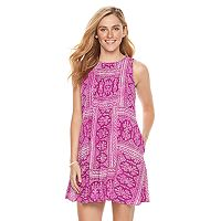 Women's SONOMA Goods for Life™ Pintuck Shift Dress