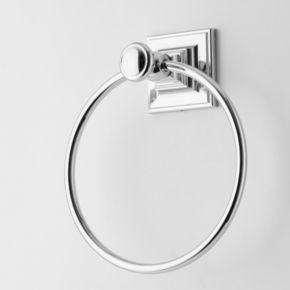 Elegant Home Fashions Chrome Towel Ring