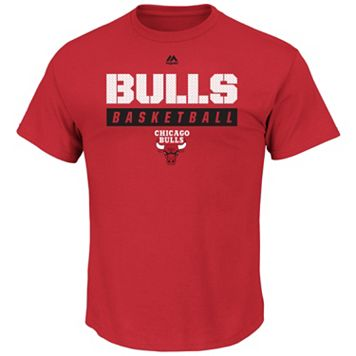 Boys 8-20 Majestic Chicago Bulls Basketball Tee