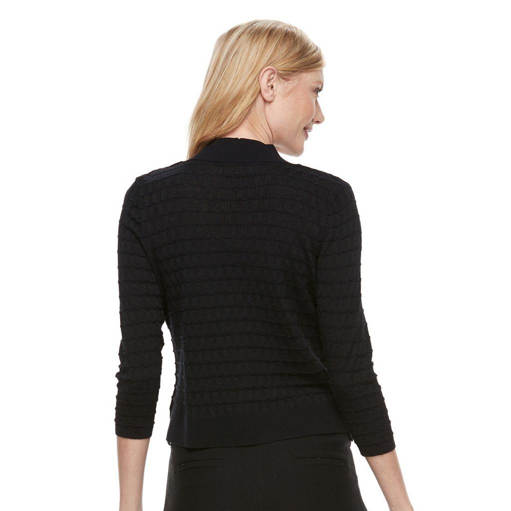 Women's Dana Buchman Textured Bolero