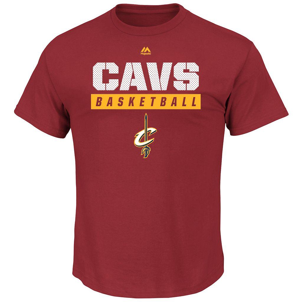 Boys 8-20 Majestic Cleveland Cavaliers Basketball Tee
