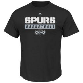 Boys 8-20 Majestic San Antonio Spurs Basketball Tee