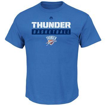 Boys 8-20 Majestic Oklahoma City Thunder Basketball Tee