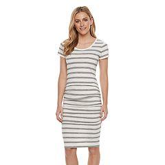 Women's SONOMA Goods for Life™ Striped Midi T-Shirt Dress