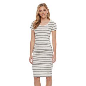 Women's SONOMA Goods for Life? Striped Midi T-Shirt Dress