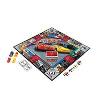 Disney/Pixar Cars 3 Edition Monopoly Junior by Hasbro