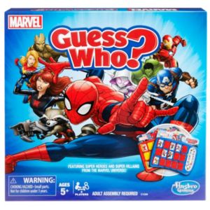 Guess Who? Game Marvel Edition by Hasbro