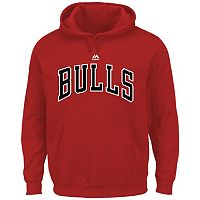 Big & Tall Majestic Chicago Bulls Logo Hoodie