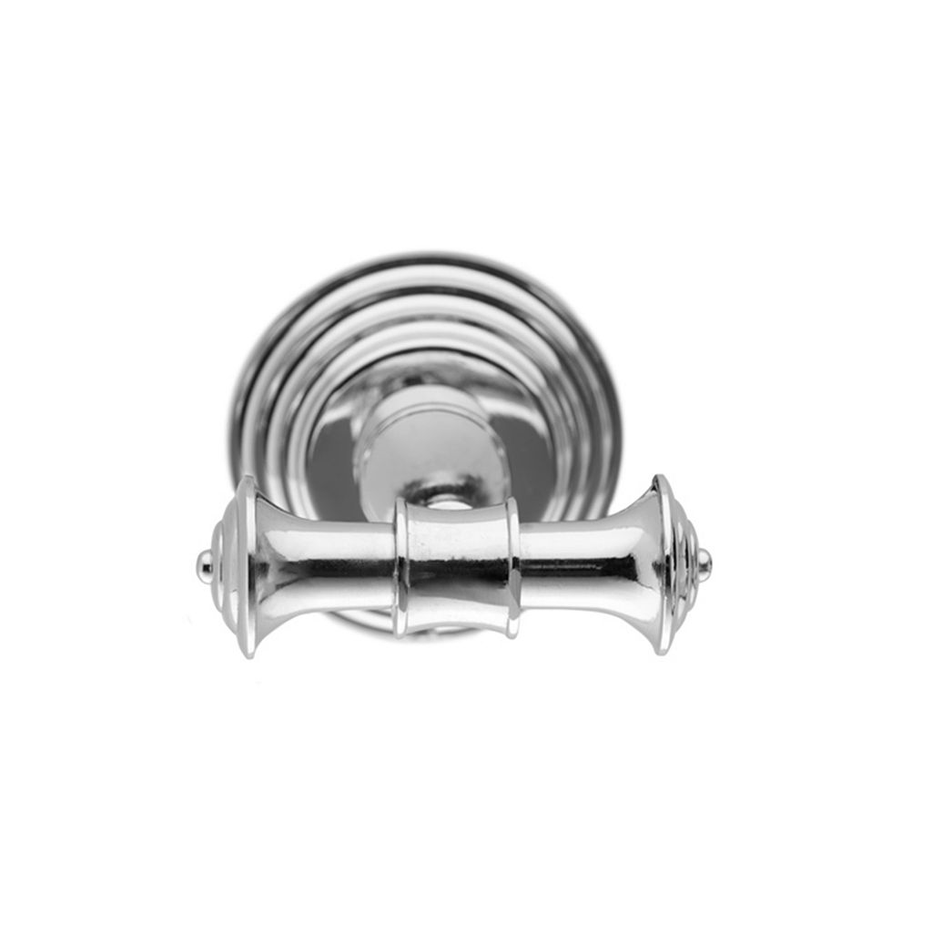 Elegant Home Fashions Chrome Double Hook