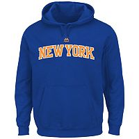 Big & Tall Majestic New York Knicks Logo Hoodie