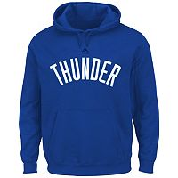 Big & Tall Majestic Oklahoma City Thunder Logo Hoodie