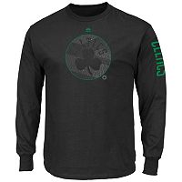 Big & Tall Majestic Boston Celtics Hit Tee