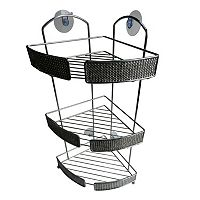 Elegant Home Fashions 3 Tier Chrome Shower Caddy