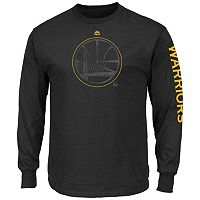 Big & Tall Majestic Golden State Warriors Hit Tee