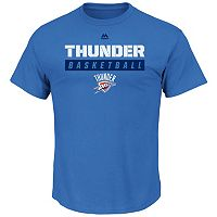 Big & Tall Majestic Oklahoma City Thunder Team Color Tee