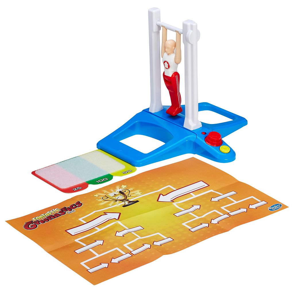Fantastic Gymnastics Game by Hasbro