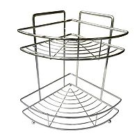 Elegant Home Fashions 2 Level Chrome Shower Caddy