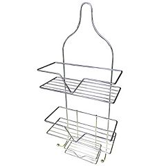 Elegant Home Fashions Hanging Shower Caddy & Soap Tray