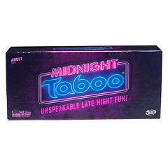 Midnight Taboo Game by Hasbro