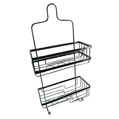 Elegant Home Fashions 2 Tier Squared Shower Caddy