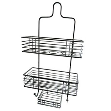 Elegant Home Fashions Chrome Shower Caddy & Soap Tray