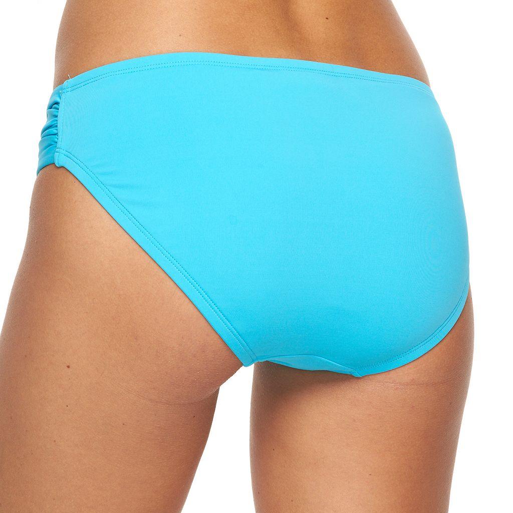 Women's Apt. 9® Shirred-Side Scoop Bottoms