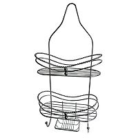 Elegant Home Fashions Curved Shower Caddy & Soap Tray