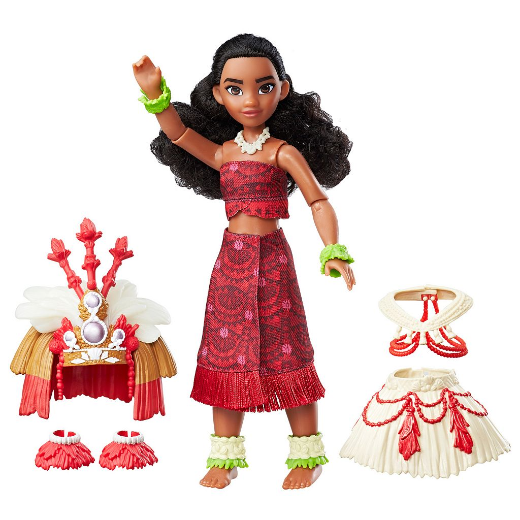 Disney's Moana Ceremonial Dress Doll by Hasbro