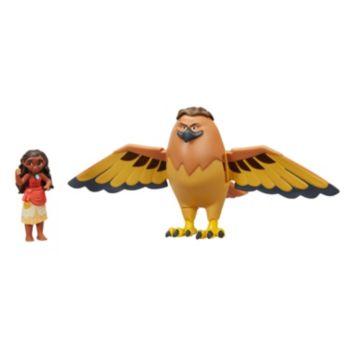 Disney's Moana of Oceania Adventures with Maui the Demigod Set by Hasbro