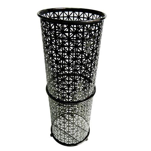 Elegant Home Fashions Black Nickel Toilet Paper Rack