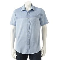 Men's Burnside Colorblock Button-Down Shirt