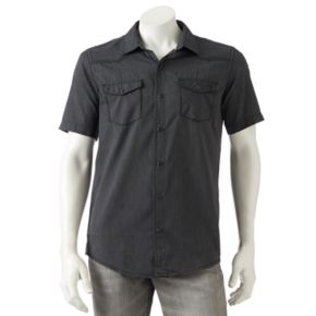 Men's Burnside Patterned Button-Down Shirt