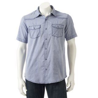 Men's Burnside Patterned Button-Down Shirt