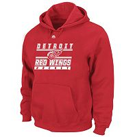 Big & Tall Majestic Detroit Red Wings Logo Hoodie