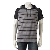 Men's Burnside Striped Hoodie Tee