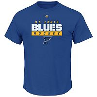 Big & Tall Majestic St. Louis Blues Team Color Tee
