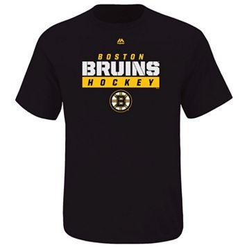 Big & Tall Majestic Boston Bruins Team Color Tee
