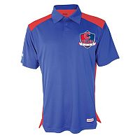 Men's Stitches Chicago Cubs Interlock Polo