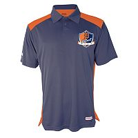 Men's Stitches Detroit Tigers Interlock Polo