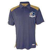 Men's Stitches Milwaukee Brewers Interlock Polo