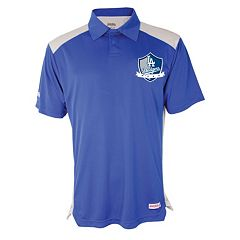 Men's Stitches Los Angeles Dodgers Interlock Polo