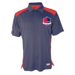Men's Stitches Cleveland Indians Interlock Polo