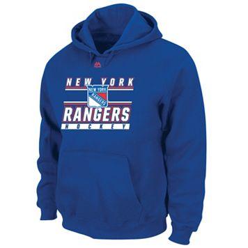 Boys 8-20 Majestic New York Rangers Pullover Hoodie