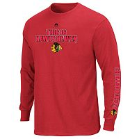 Boys 8-20 Majestic Chicago Blackhawks Hockey Long-Sleeve Tee