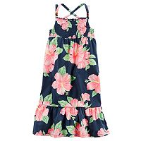Girls 4-8 Carter's Hibiscus Maxi Dress