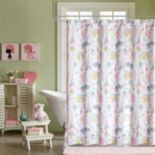 Mi Zone Kids Penelope The Poodle Printed Shower Curtain
