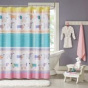Mi Zone Kids Wriggle Printed Shower Curtain