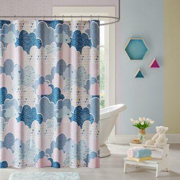 Urban Habitat Kids Bliss Printed Shower Curtain