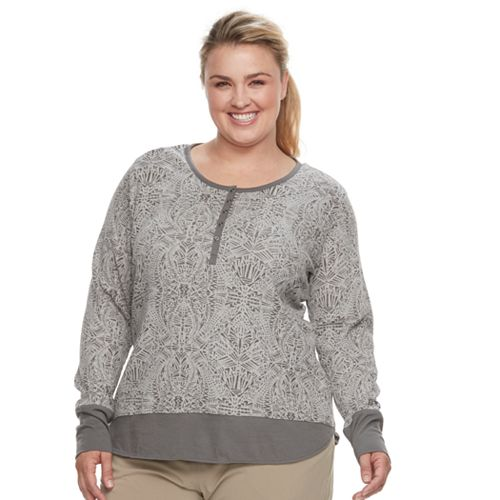 Plus Size Columbia Ski Valley II Thermal Henley