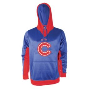 Men's Stitches Chicago Cubs Embossed Logo Hoodie